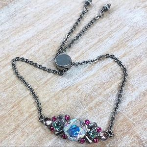 Sorrelli Crystal Stargazer Slider Bracelet,NWT